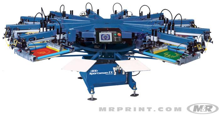 SPORTSMAN® EX Automatic Screen Printing Press