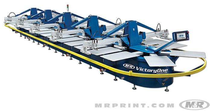 The VictoryOne® Automatic Screen Printing Press